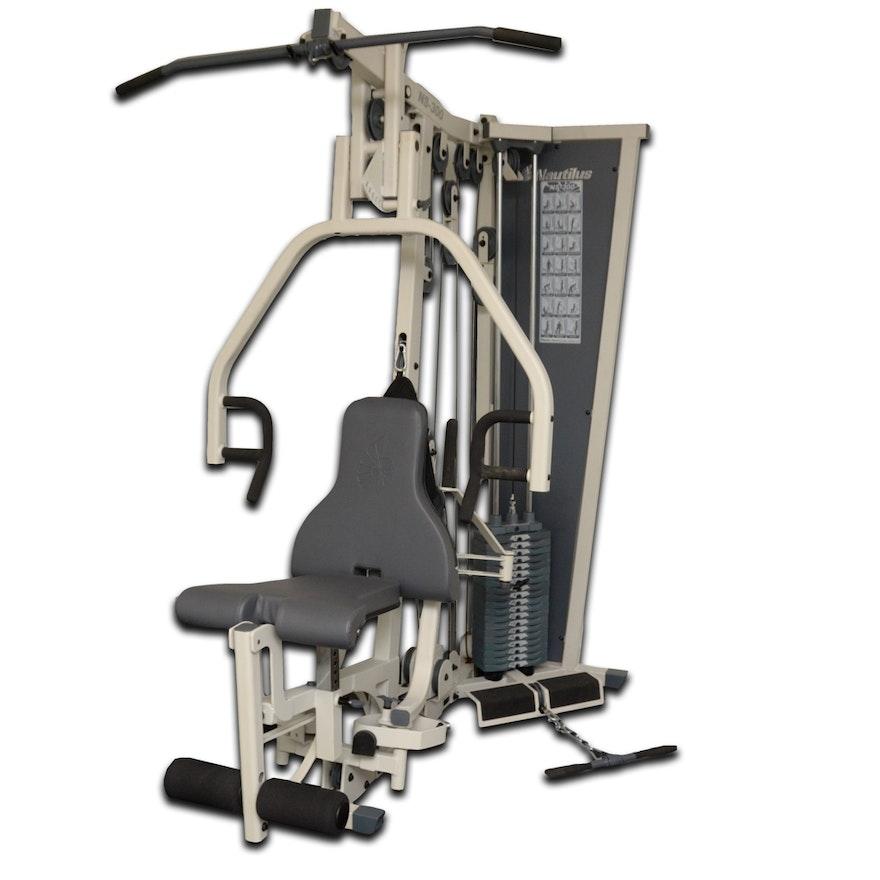 Nautilus weight lifting machines dandk
