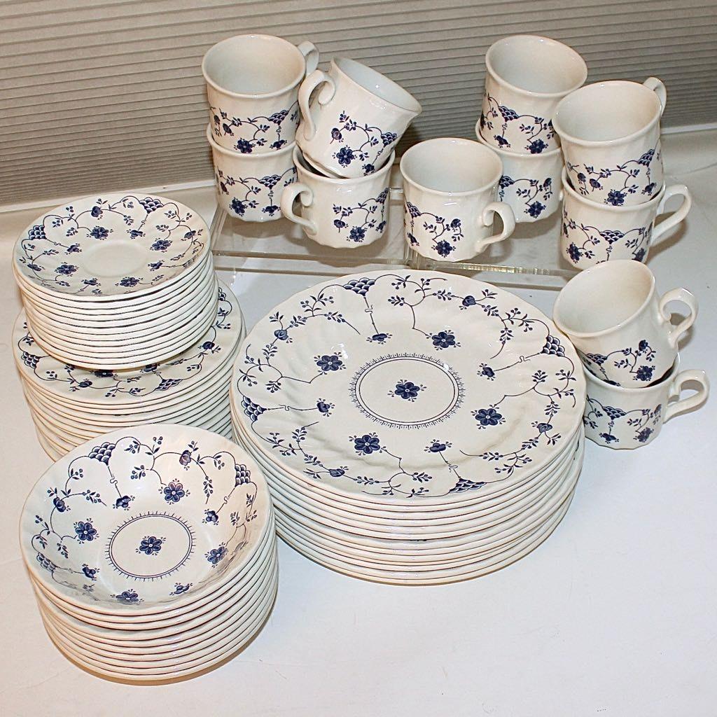 The Georgian Collection \ Churchill\  Fine English Tableware ... & The Georgian Collection \