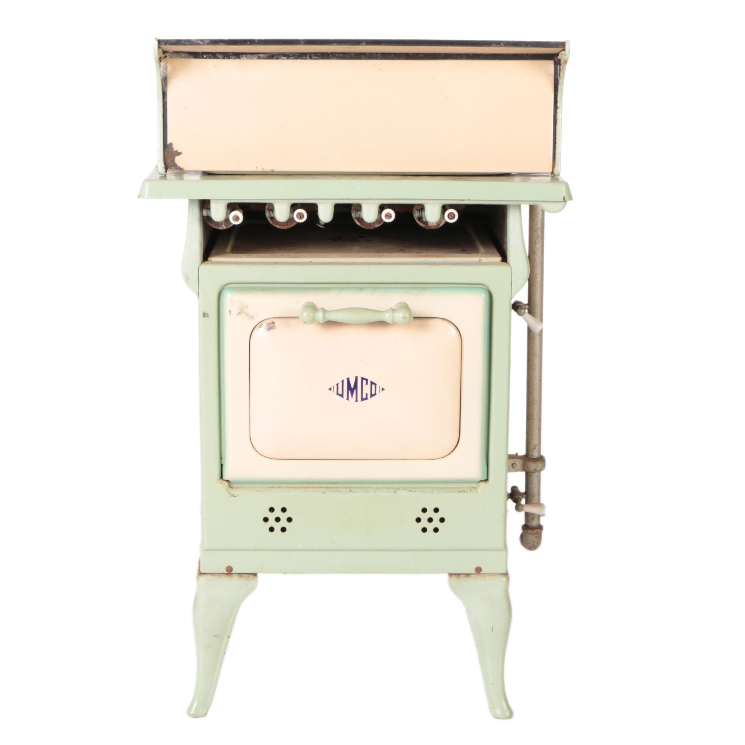 Umco Green Metal Gas Stove