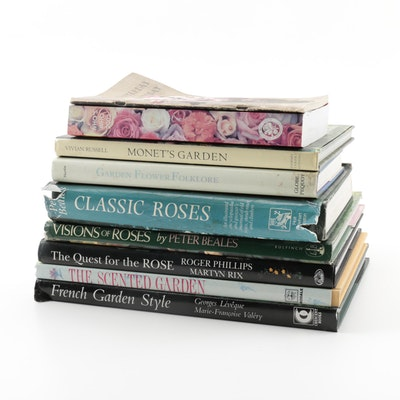 """The Quest for the Rose"" and Other Books on Gardens and Gardening"