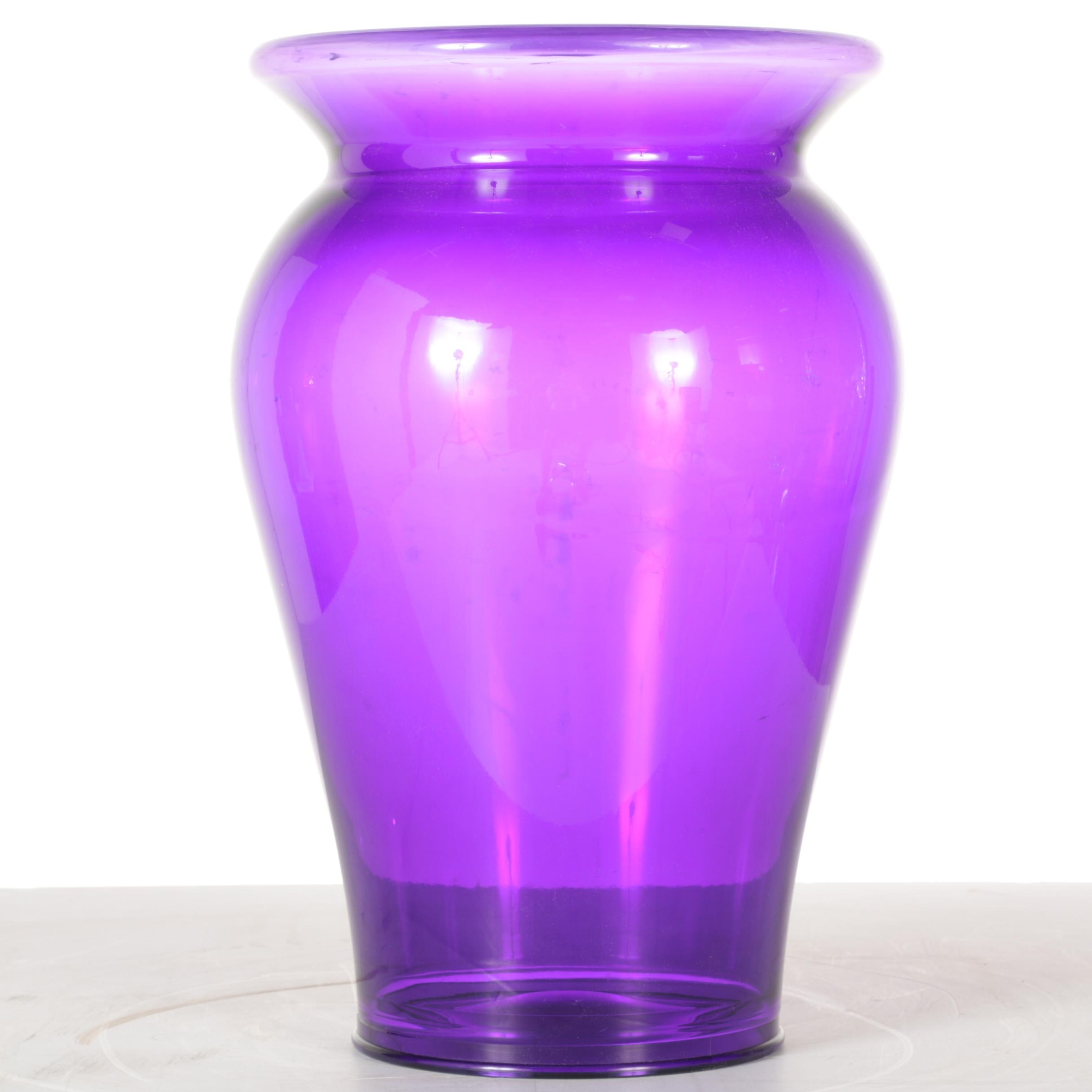 Purple Bohem Stool/Side Table by Kartell With Starck
