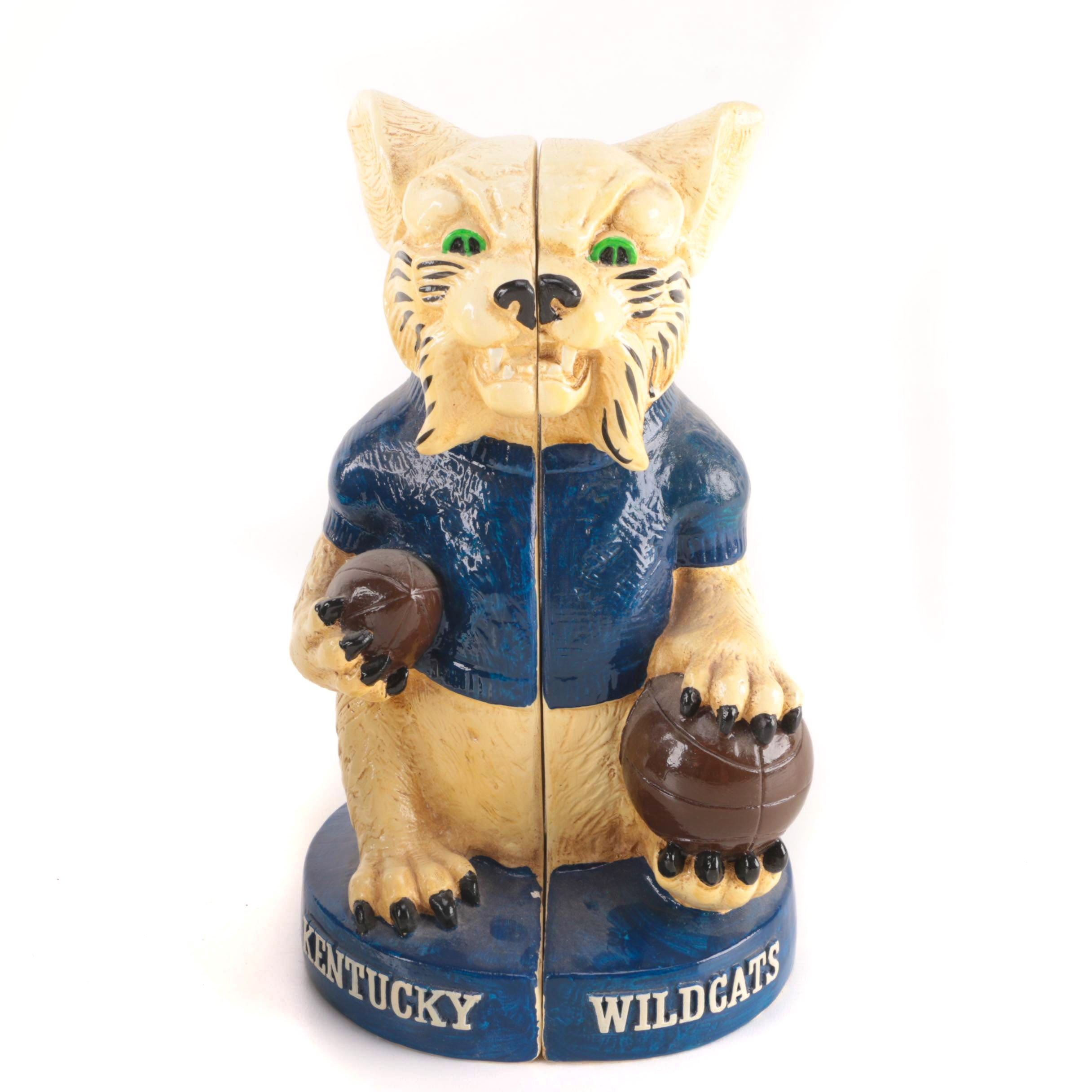 Kentucky Wildcats Ceramic Bookends
