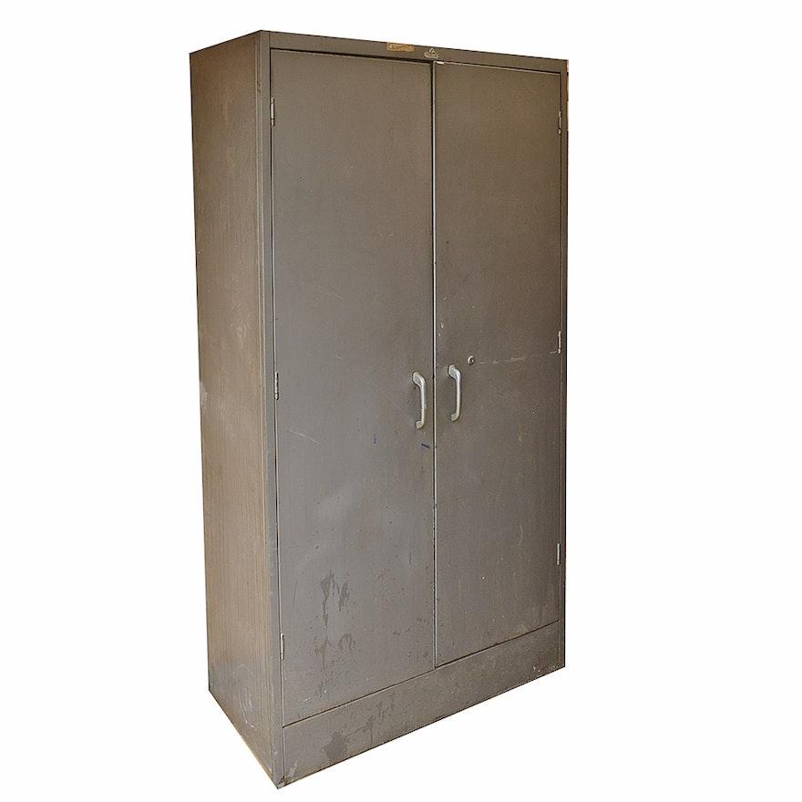 Vintage Metal Cabinet By All Steel Equipment