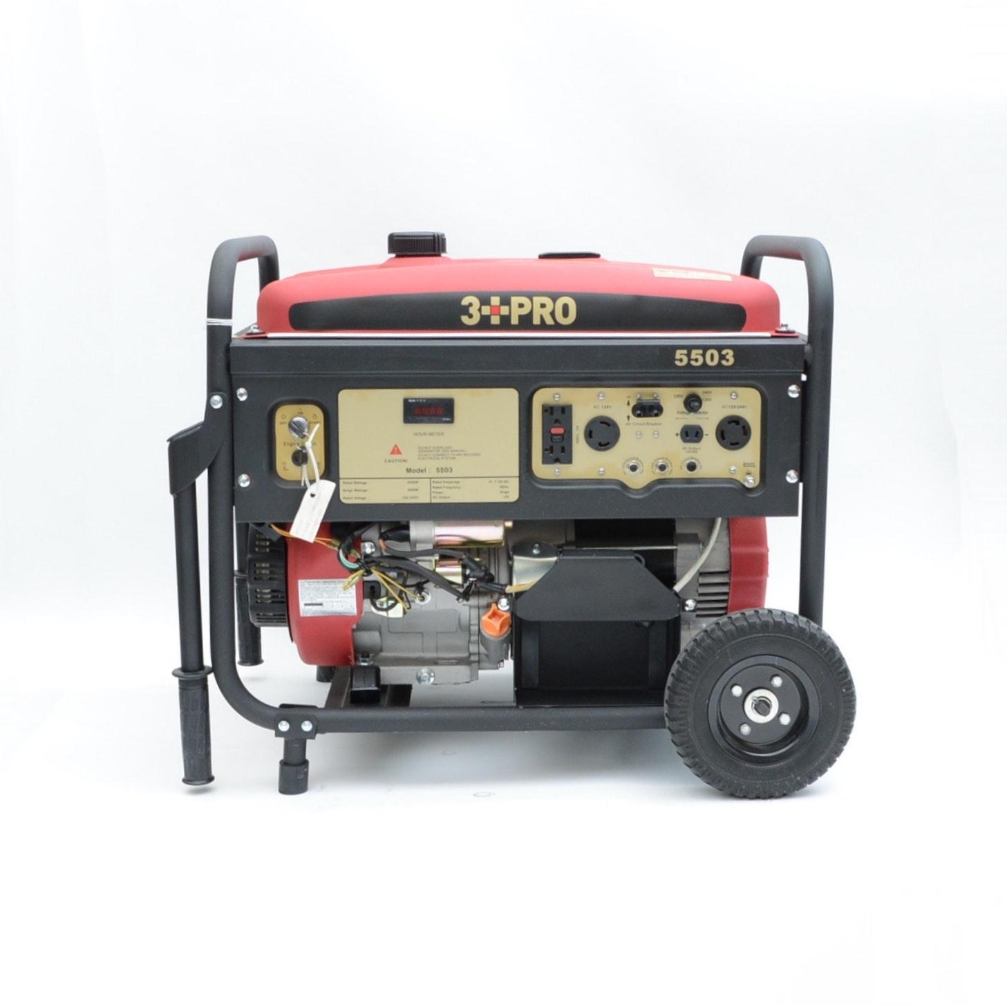3 PRO Gasoline Generator