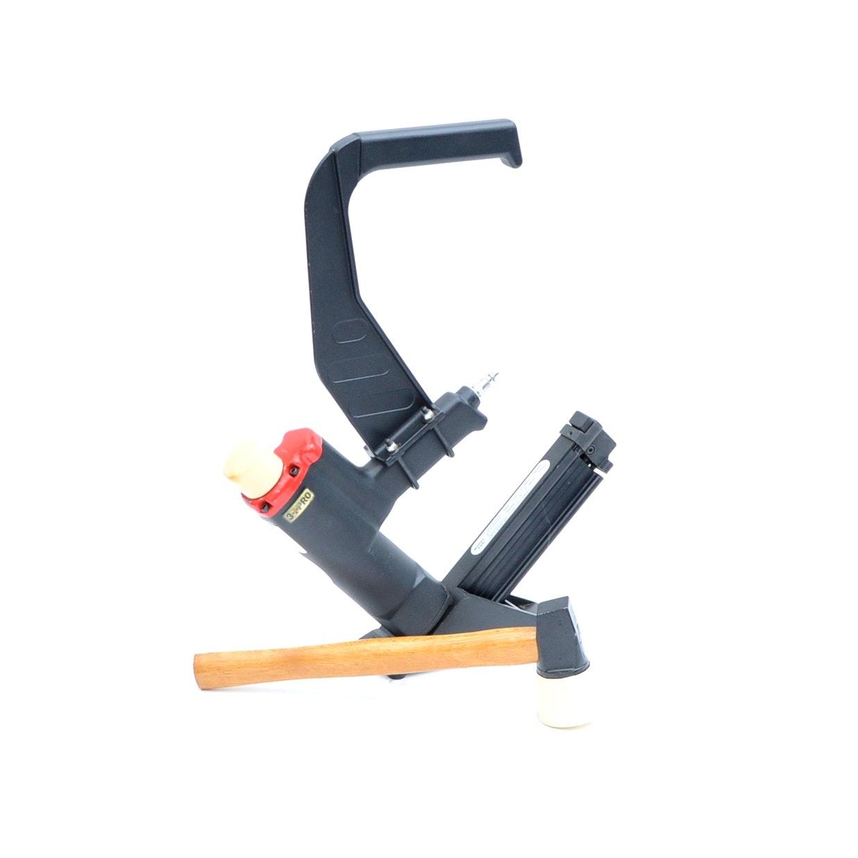 3 PRO 15 1/2 Gauge Combination Flooring Stapler and Cleat Nailer