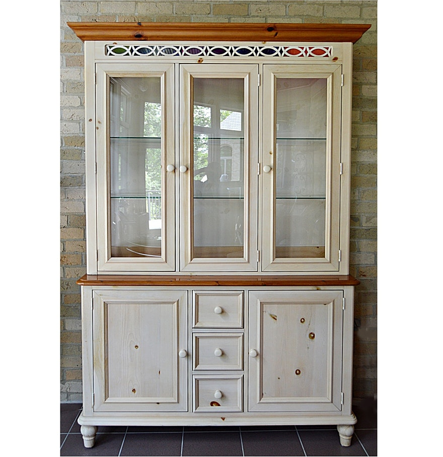 French country china cabinets - Broyhill Avis French Country China Cupboard