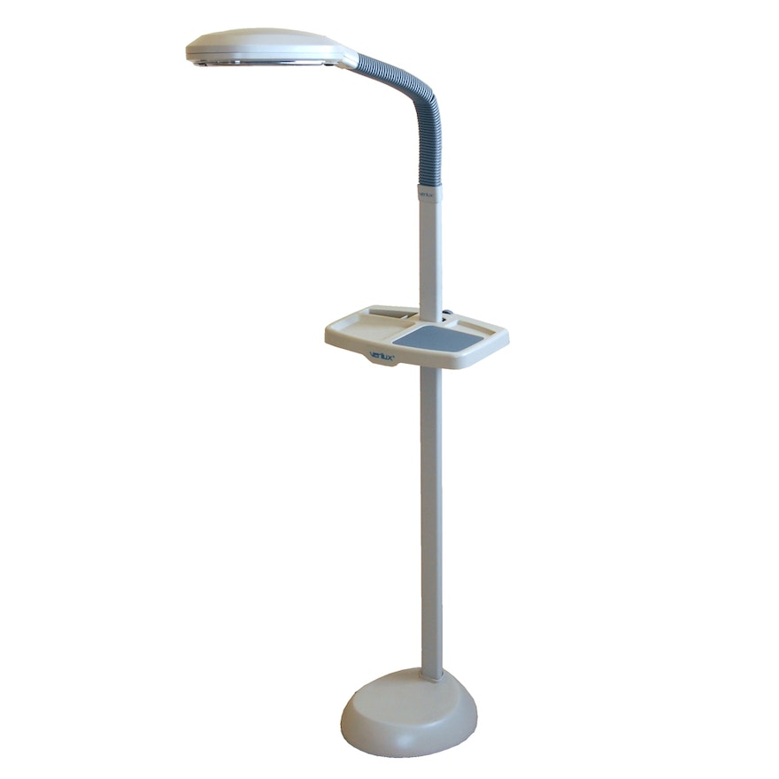 Verilux floor lamp with tray ebth verilux floor lamp with tray mozeypictures Gallery