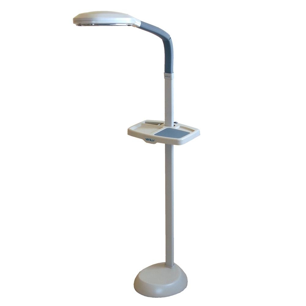 Verilux Floor Lamp With Tray ...