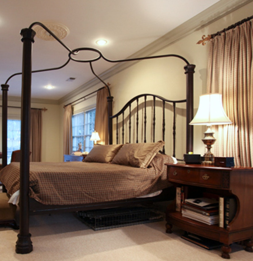 cast iron california king canopy bed frame - King Canopy Bed Frame