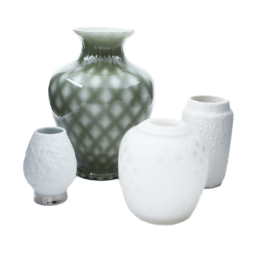 Four Decorative Vases