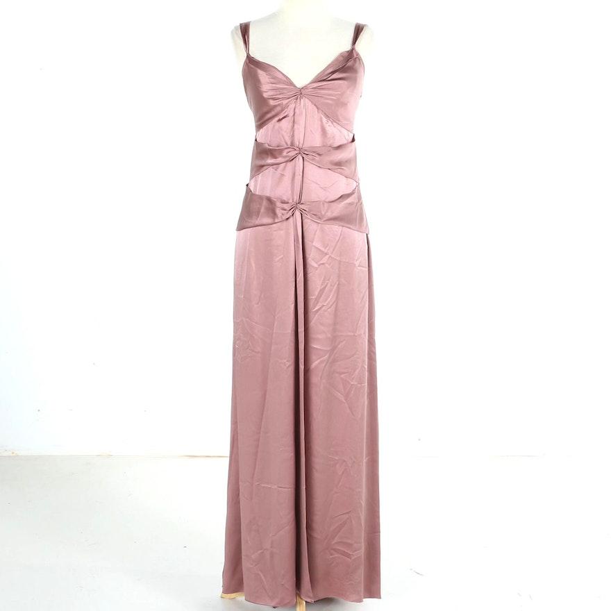 Vera Wang Mauve Evening Dress : EBTH