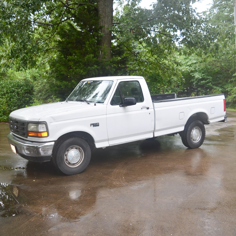 1994 Ford F150 Xl Pickup Truck   Ebth