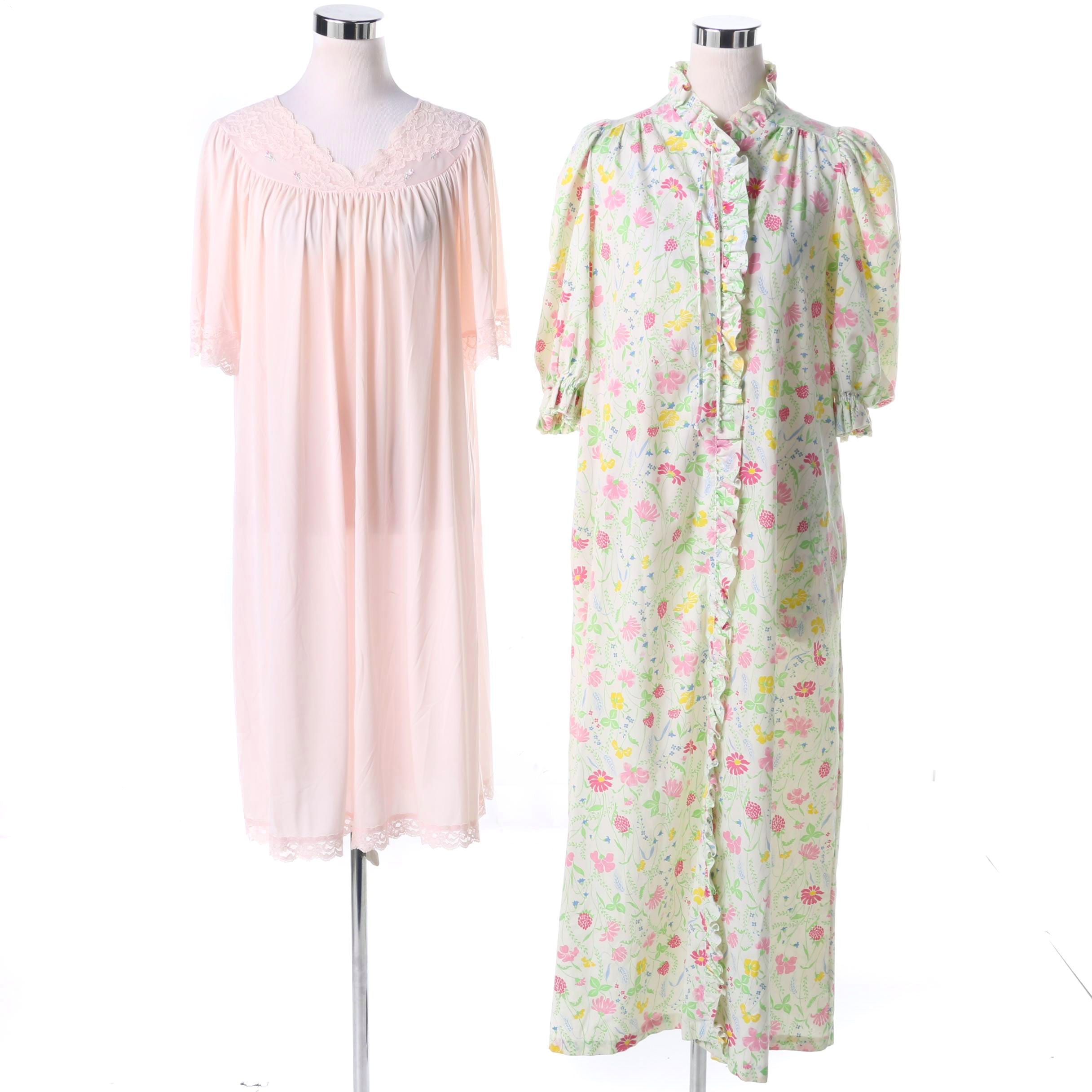 Pair of Women's Vintage Nightgowns