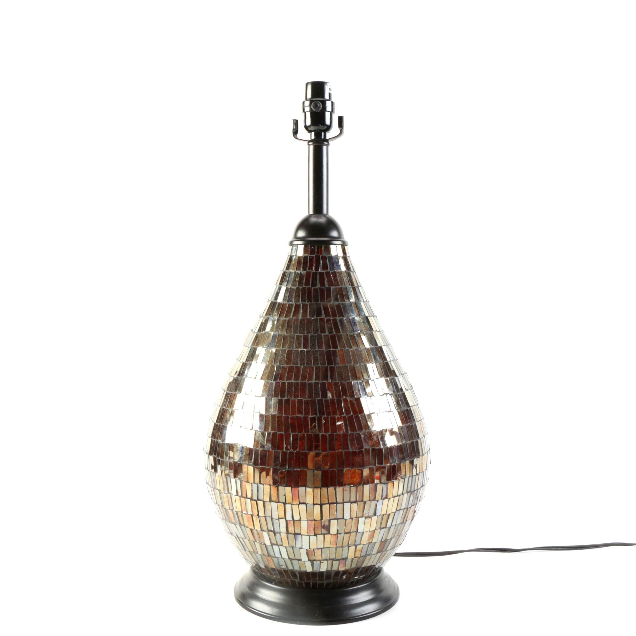 Mosaic Mirrored Lamp