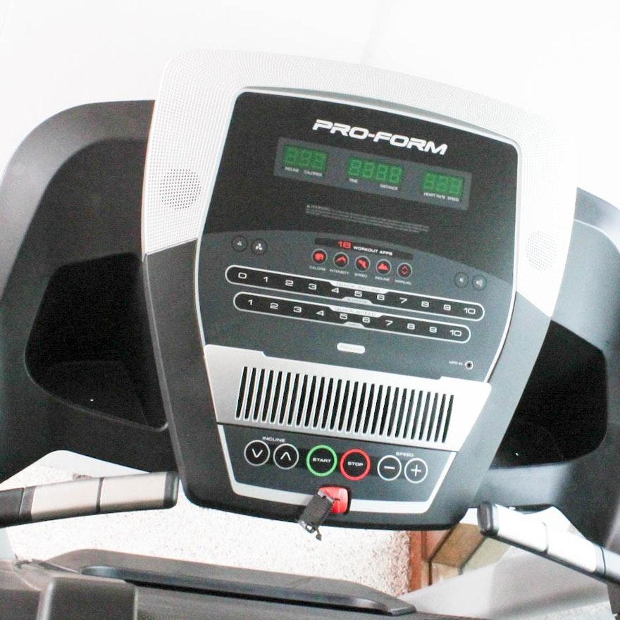 Pro Form Performance 400 Treadmill Ebth