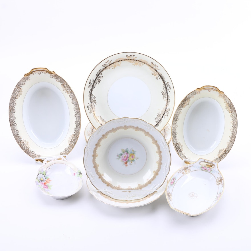 Noritake and Nippon China Servingware : EBTH