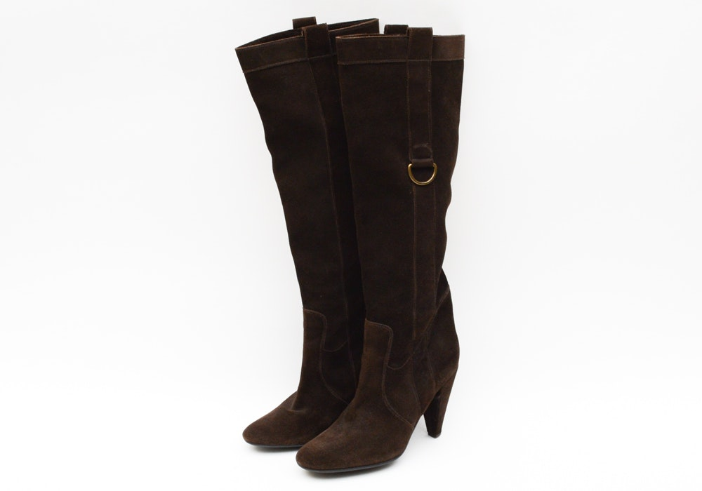 Fornarina Suede Boots