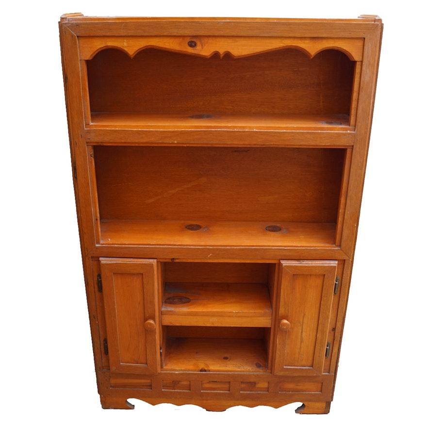 Vintage Knotty Pine Paneling: Vintage Knotty Pine Cabinet