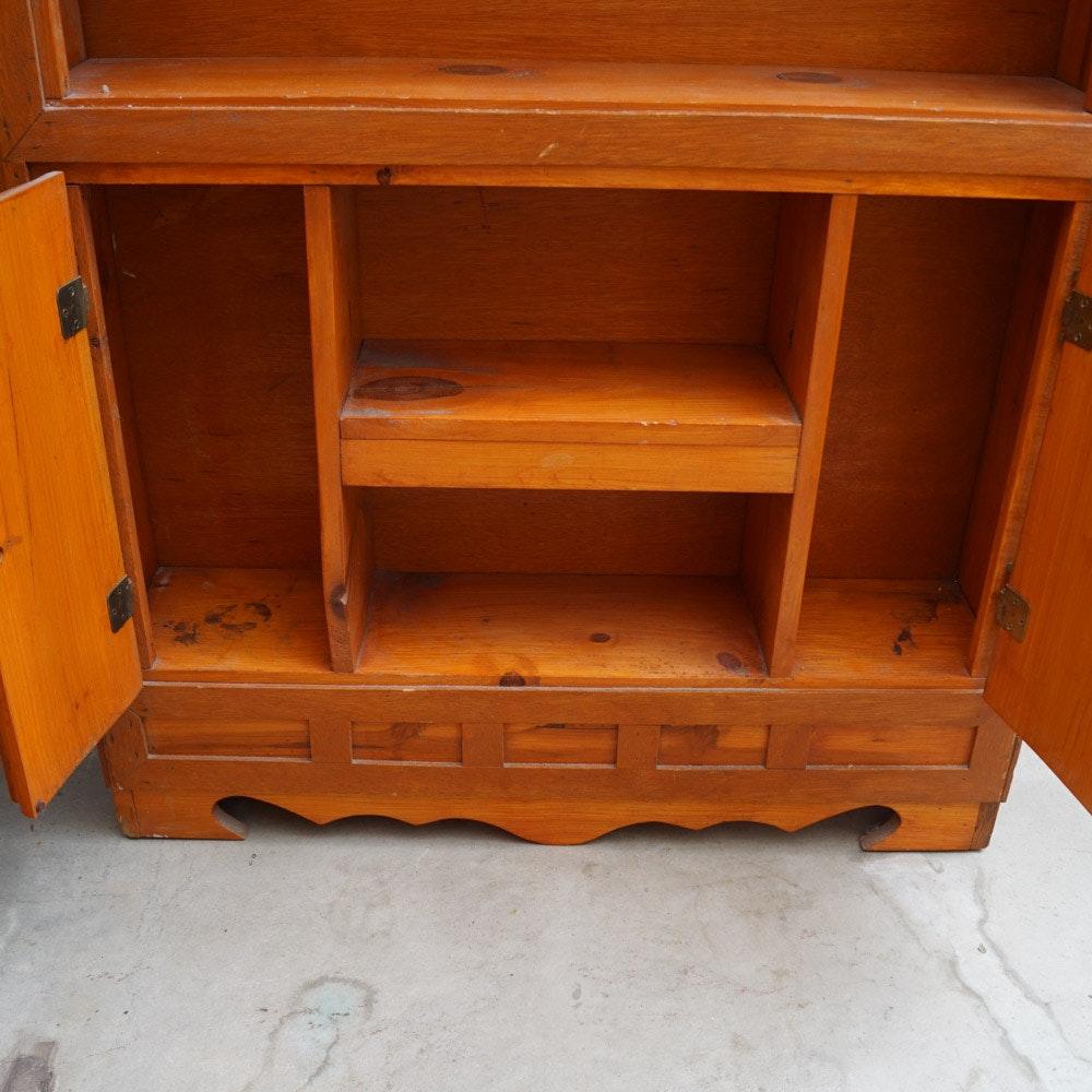 Vintage Knotty Pine Kitchen Cabinets: Vintage Knotty Pine Cabinet