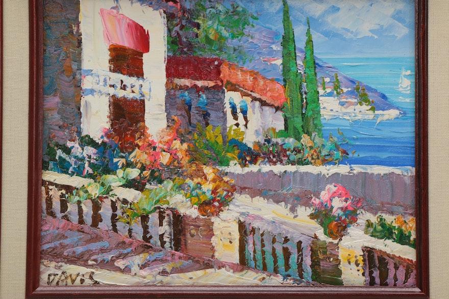 Gay davis portrait oil painter