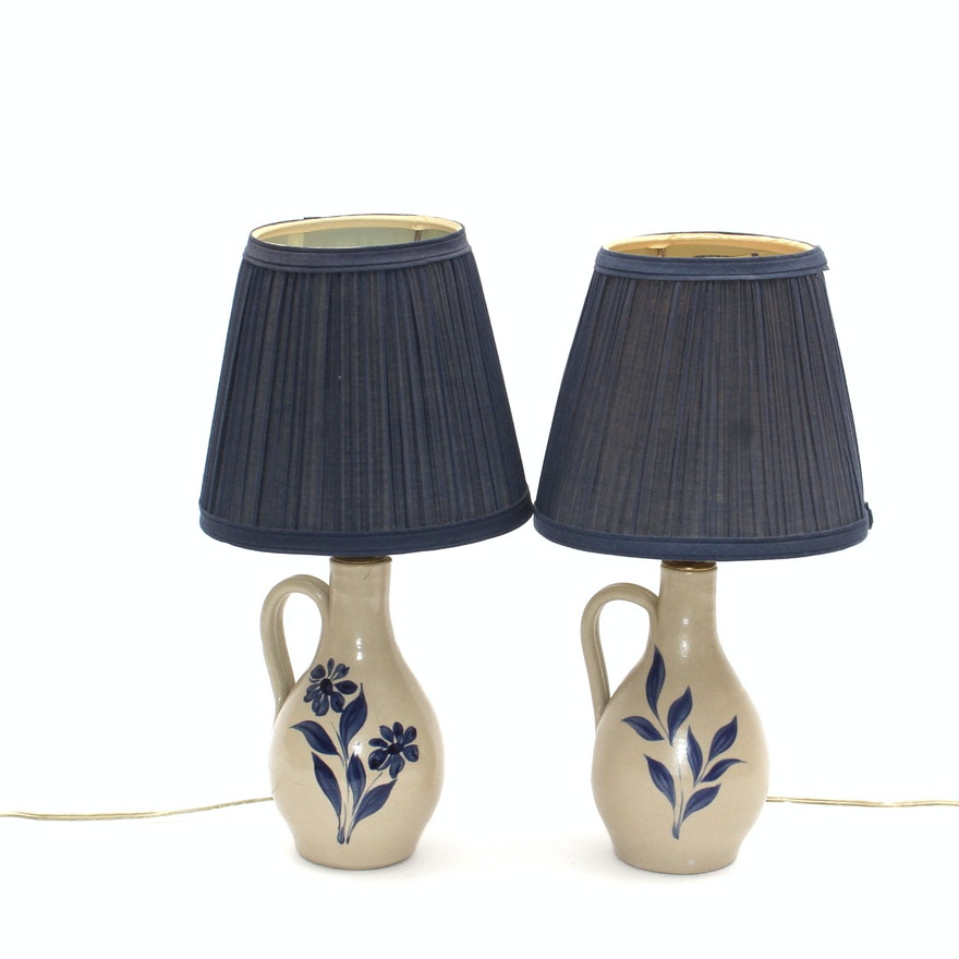ucwords great base table potterybarn pottery evelyn within innovafuer blue ceramic lighting would lamps look light lamp choices
