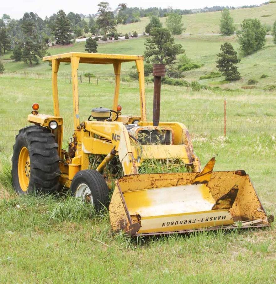 Ferguson 40 Tractor : Massey ferguson industrial tractor ebth