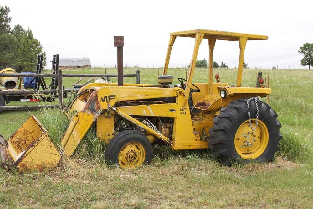 Ferguson 40 Industrial Tractor : Massey ferguson industrial tractor ebth