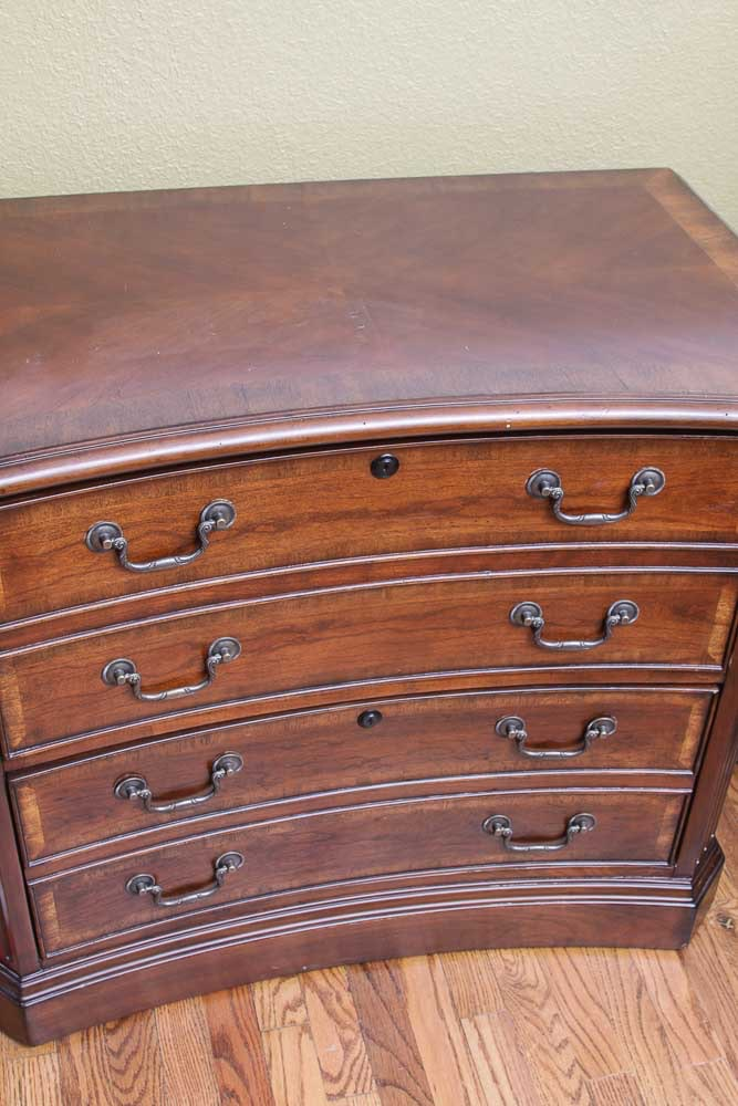 "Hooker Furniture ""Seven Seas"" Wooden Filing Cabinet EBTH"