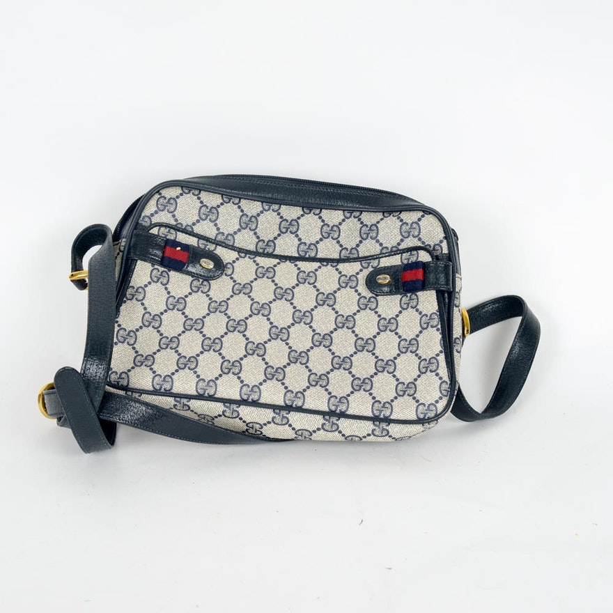 30af0280d3c Vintage Gucci Monogram Handbag   EBTH