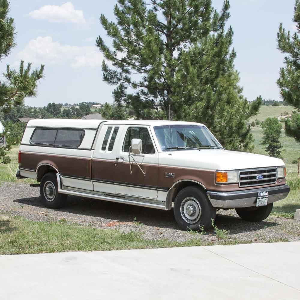 1990 Ford F250 XLT Lariat Pickup Truck