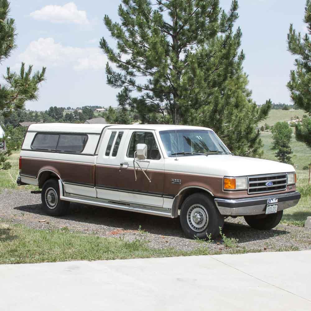 1990 Ford F250 Xlt Lariat Pickup Truck   Ebth
