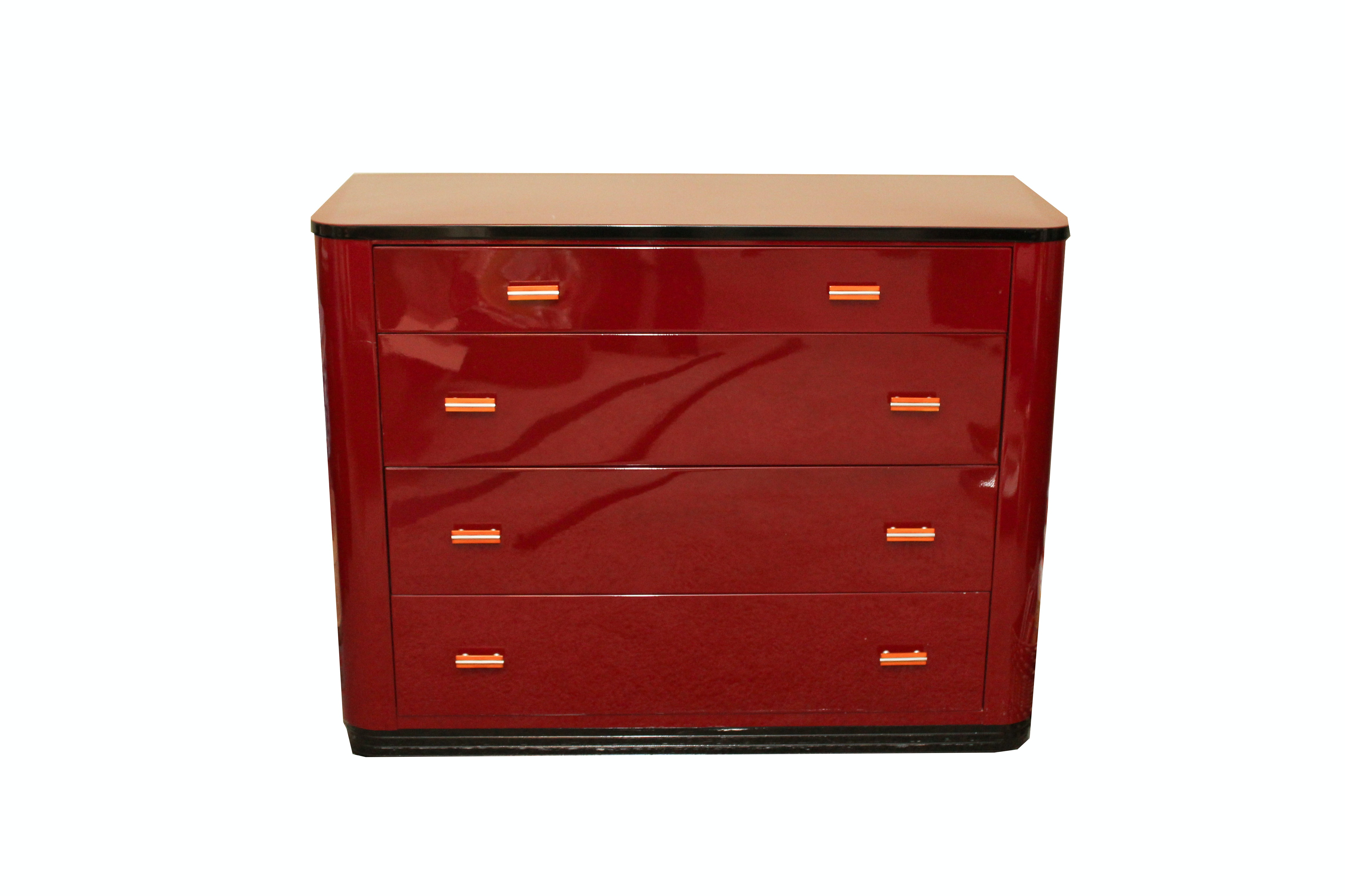 Norman Bel Geddes For Simmons Furniture Chest Of Drawers ...
