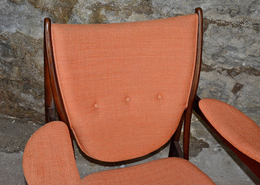Danish Modern Style Arm Chair Ebth