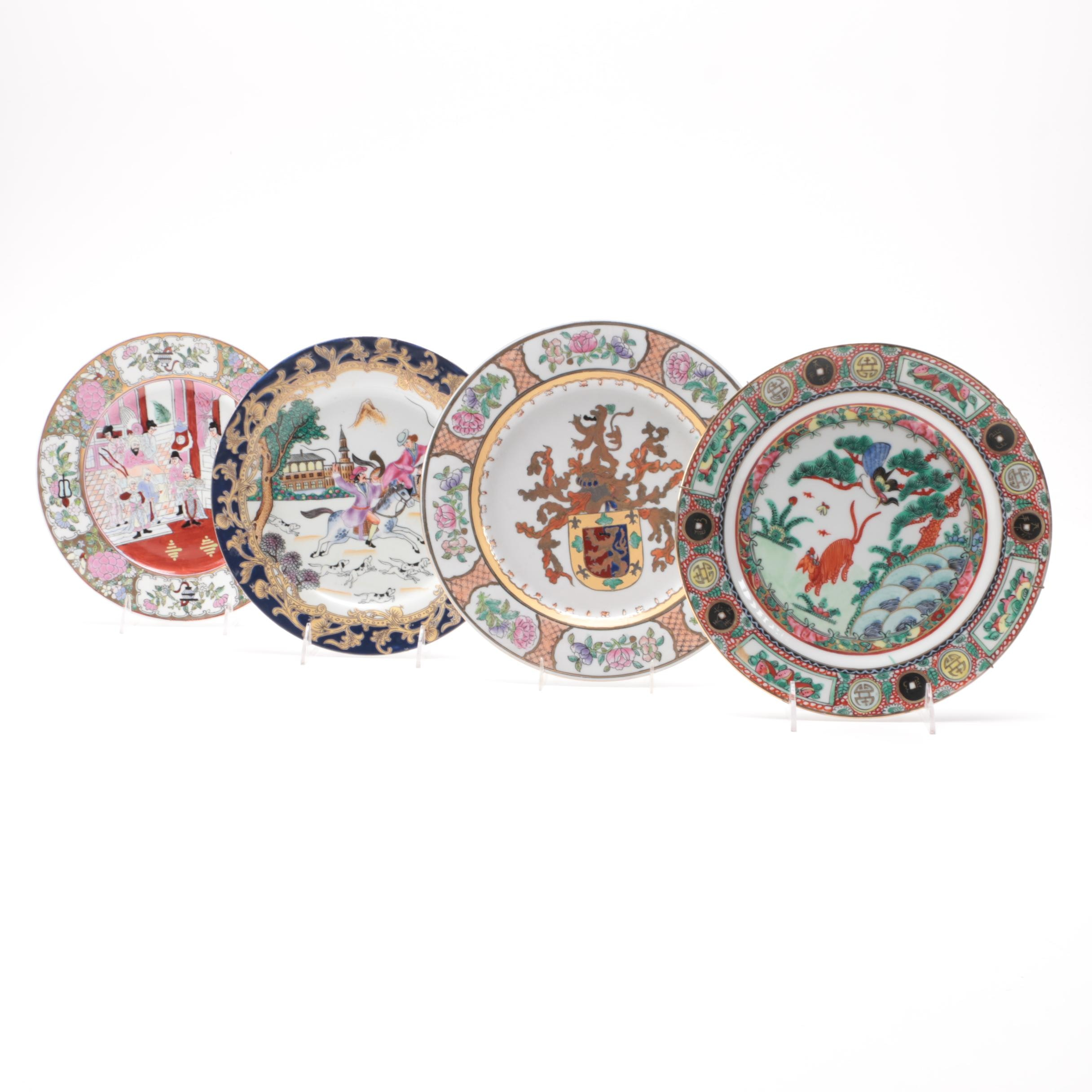 Collection of Decorative Chinese Plates