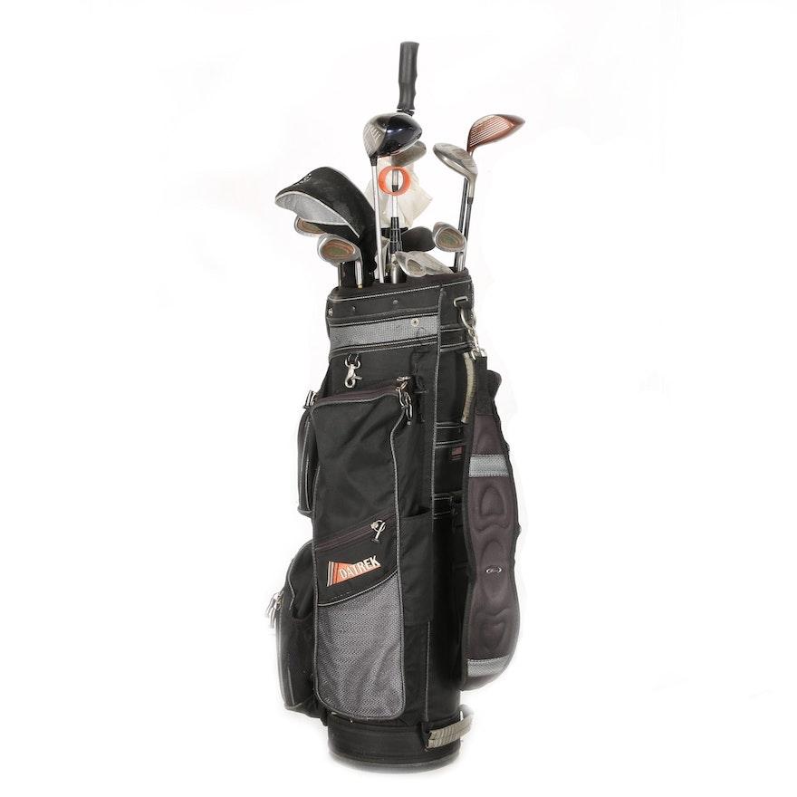 Datrek Golf Bag With Clubs