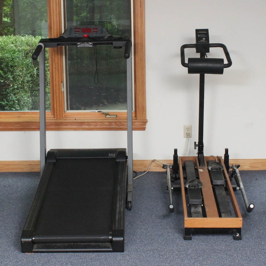 Vitamaster Ski Machine And Keys Treadmill