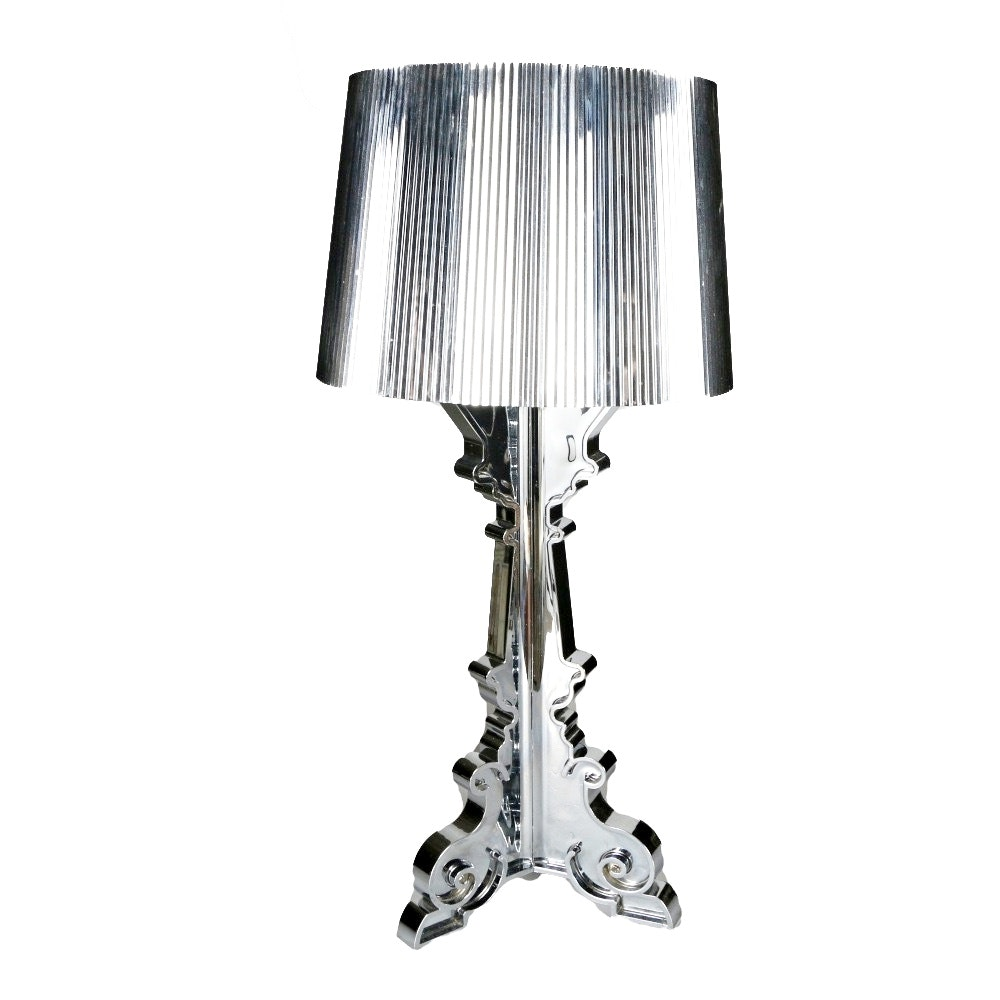 """Bourgie"" Chrome Table Lamp by Kartell"