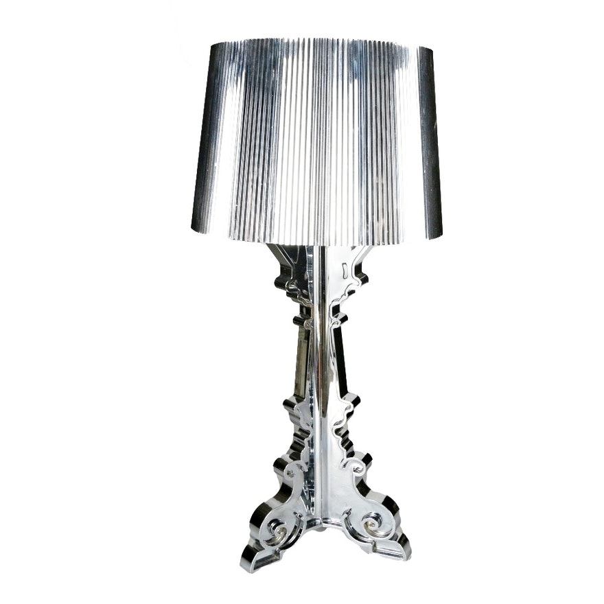 """""""Bourgie"""" Chrome Table Lamp by Kartell"""