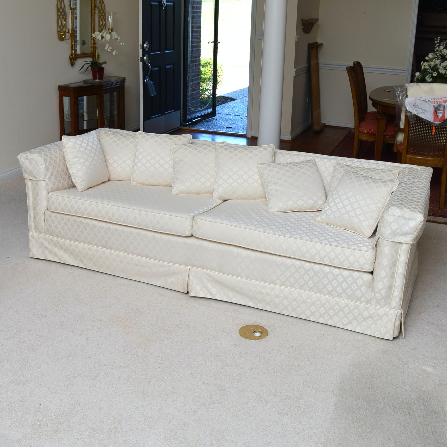 Vintage Upholstered Sofa