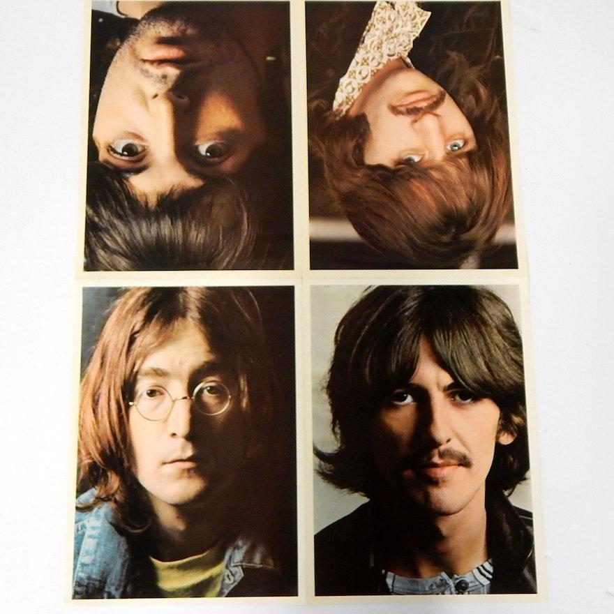 1968 Beatles White Album Uncut Insert Ebth