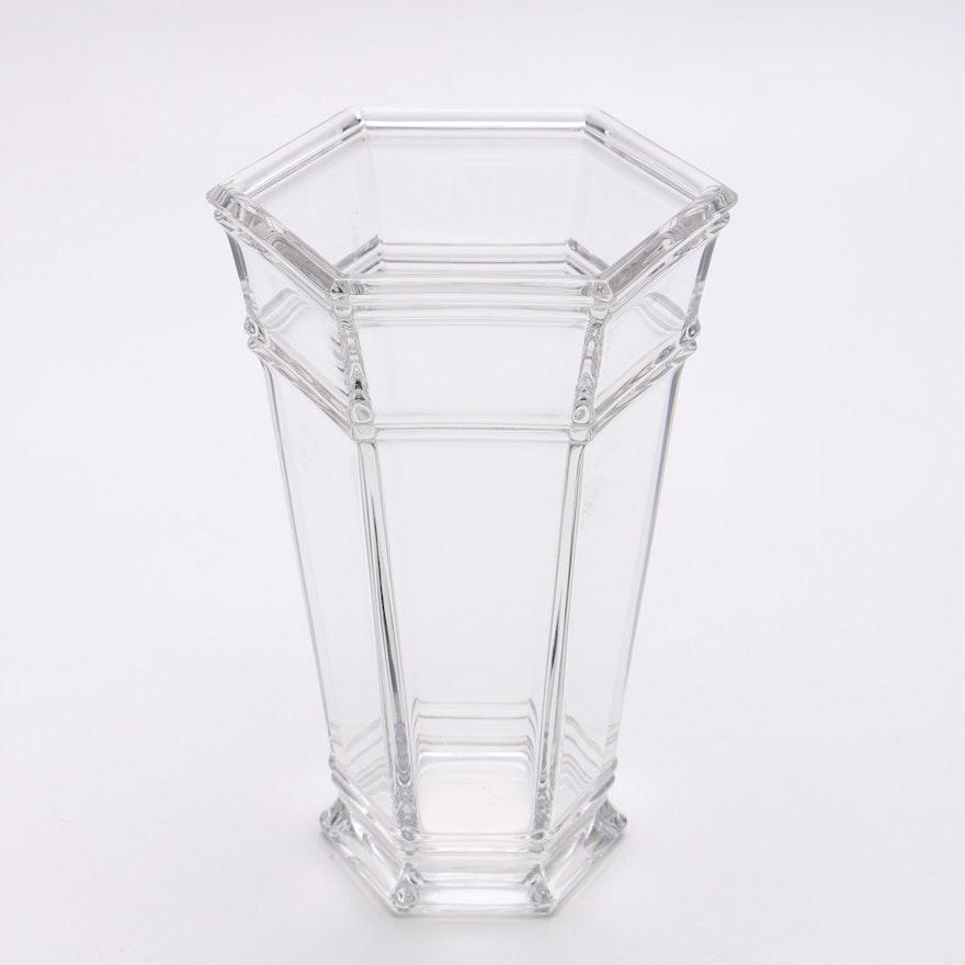 Tiffany Co Windham Crystal Vase Ebth
