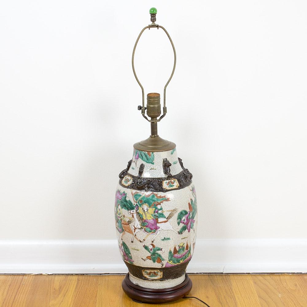 Chinese Ceramic Lamp