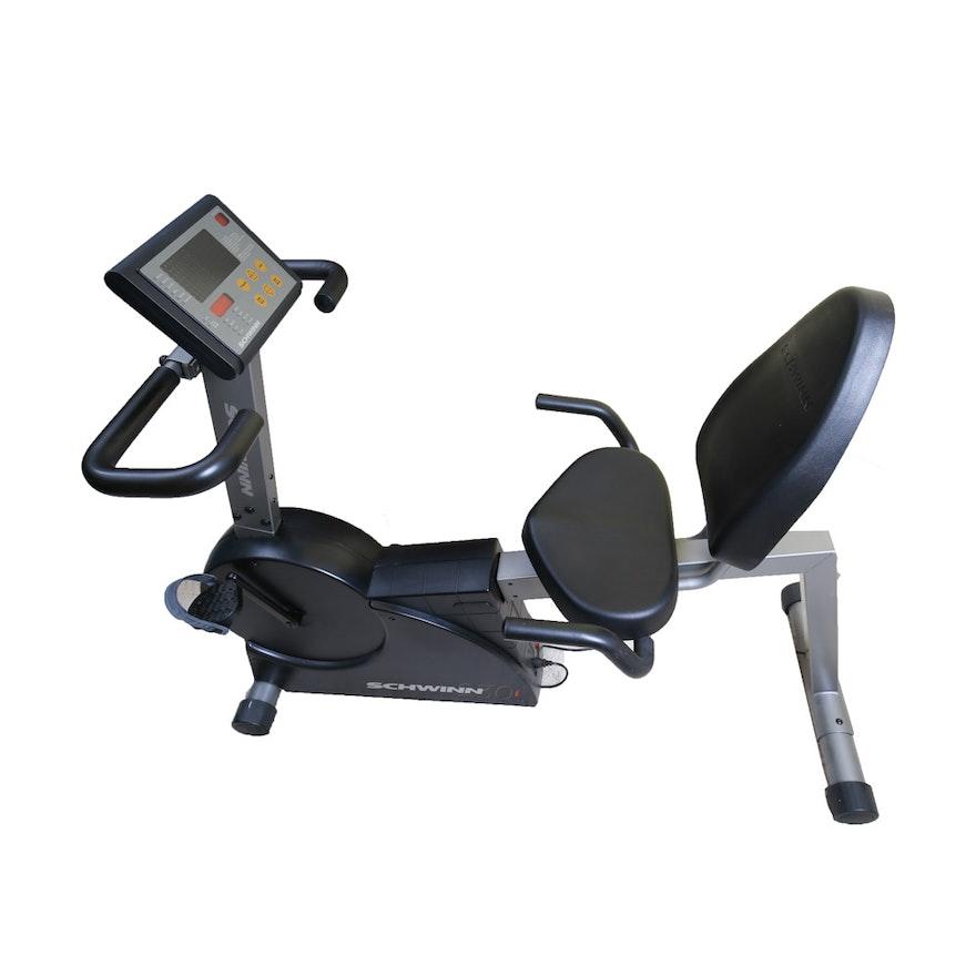 Schwinn 230i Stationary Recumbent Exercise Bicycle