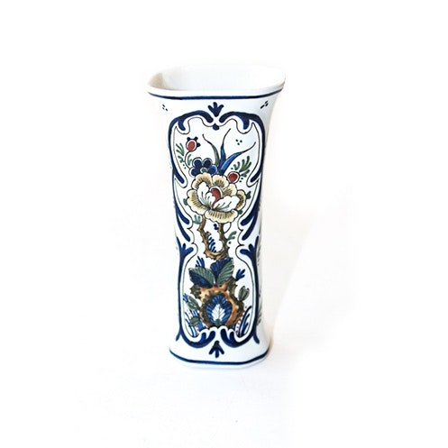 Royal Delft Hand Painted Vase