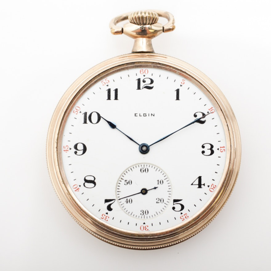 elgin pocket watch serial numbers