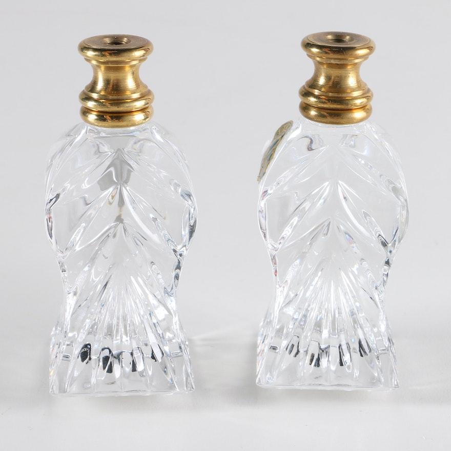repair bruening broken crystal l waterford lamp glass repaired wf works