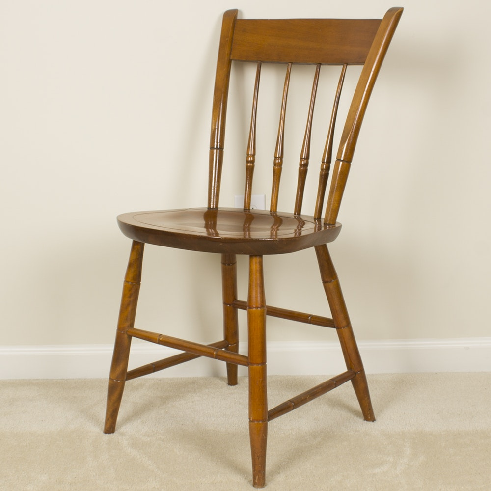 Vintage Windsor Style Chair by Nichols and Stone