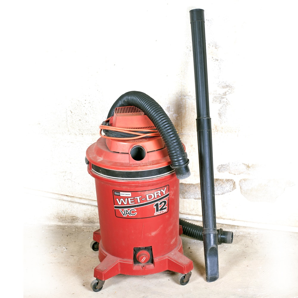 Craftsman Wet-Dry Vacuum Cleaner