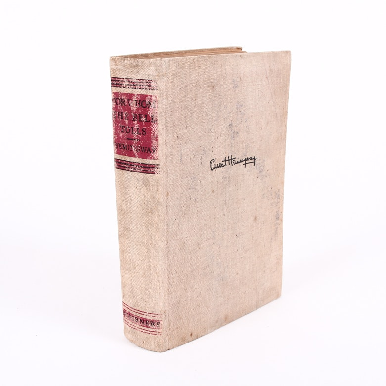 "First Edition ""For Whom the Bell Tolls"" by Ernest Hemingway"