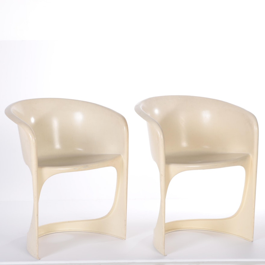 cado mid century modern molded chairs designed by steen ostergaa ebth